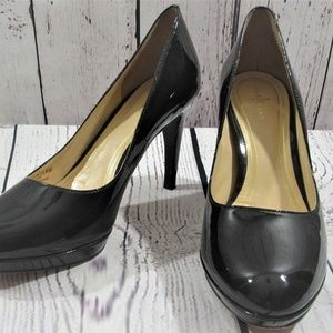 Cole Haan patent leather heel black pumps 8.5